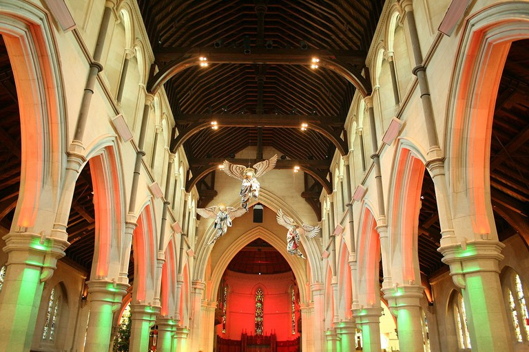 The nave of the Christ Church Cathedral in 2010