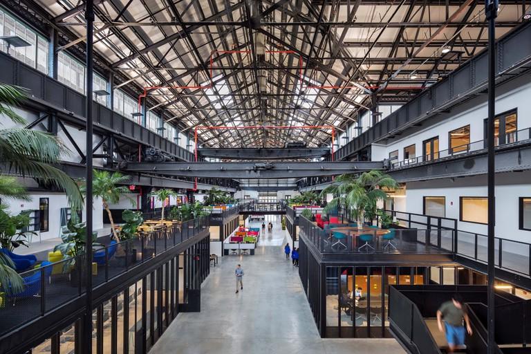 New Lab, Brooklyn Navy Yard. Marvel Architects