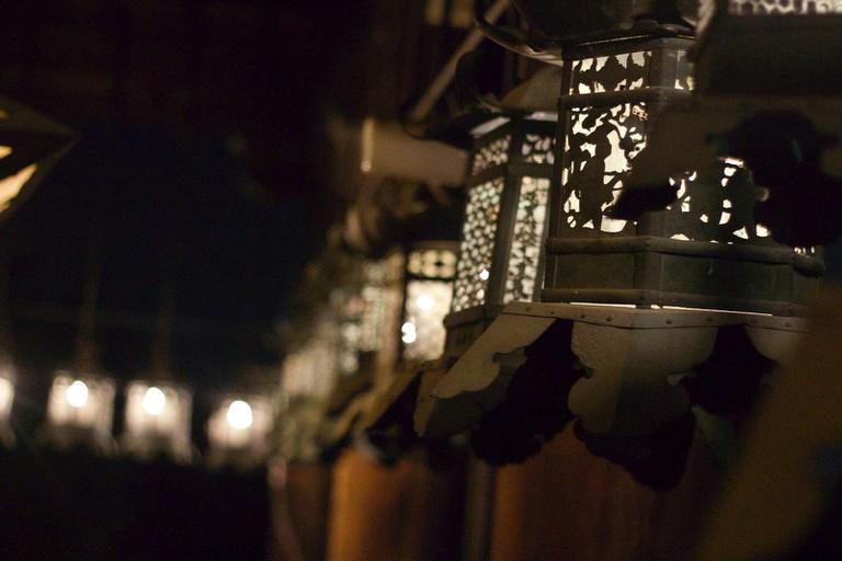 Lantern at Nigatsudo