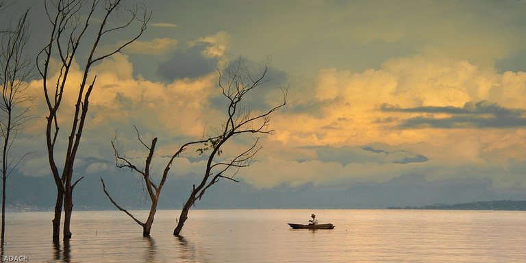 Lake Atitlan kayaking