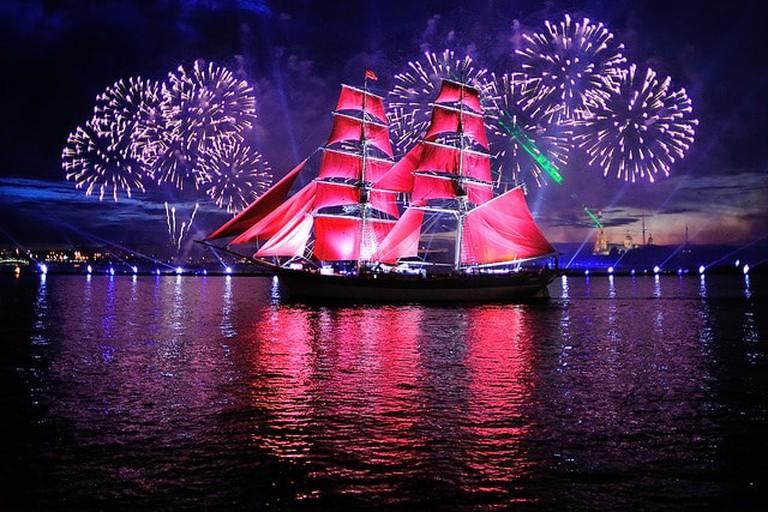 Scarlet Sails, St Petersburg