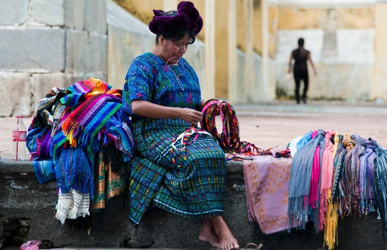 Antigua woven textiles