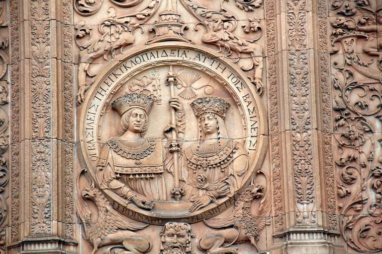 Carvings at Salamanca University