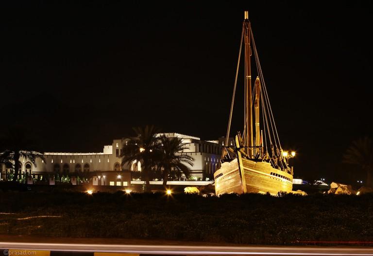 Al Bustan Dhow Boat Roundabout