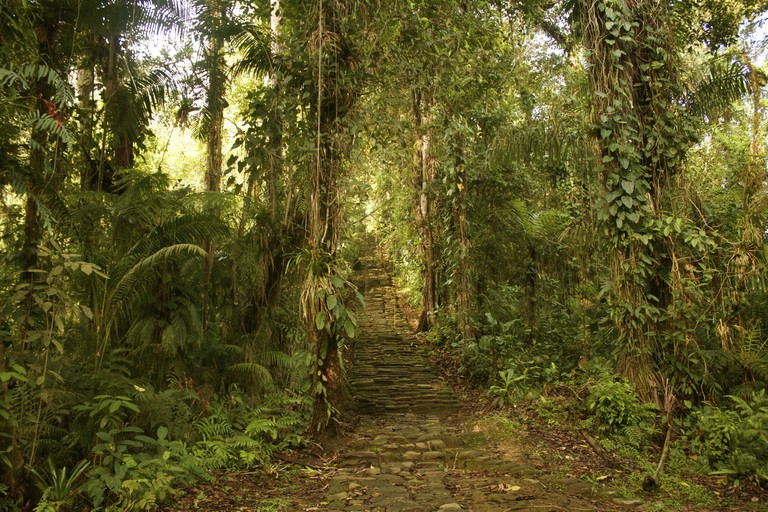 The trail to the Lost City