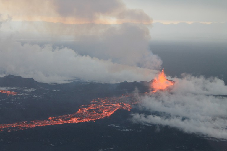 Bárðarbunga Volcano, September 4 2014 | © peterhartree/Flickr