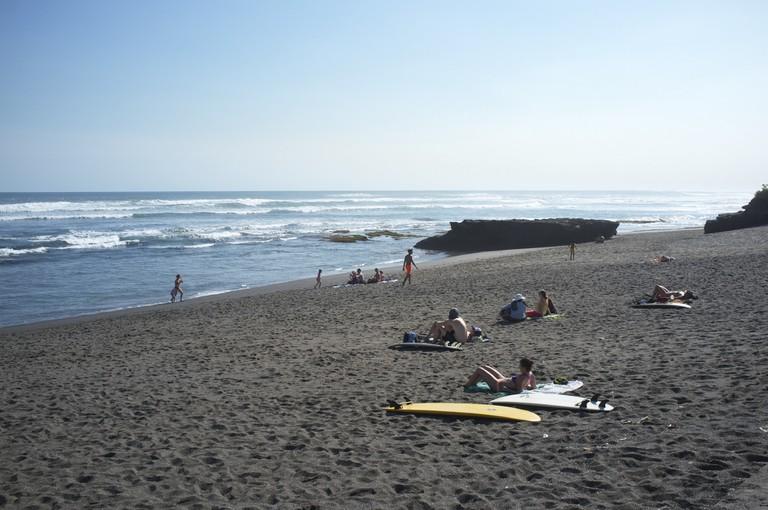 Beach life in Canggu, Bali