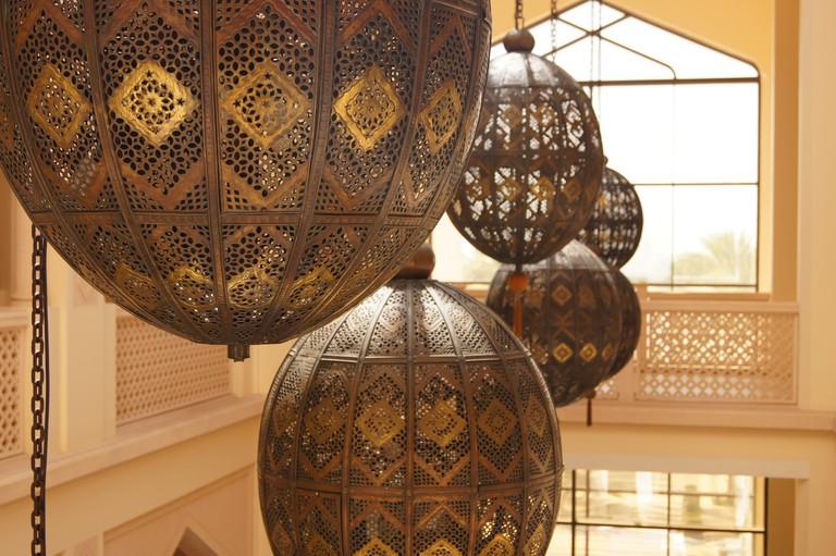 Hotel Arabian Decoration