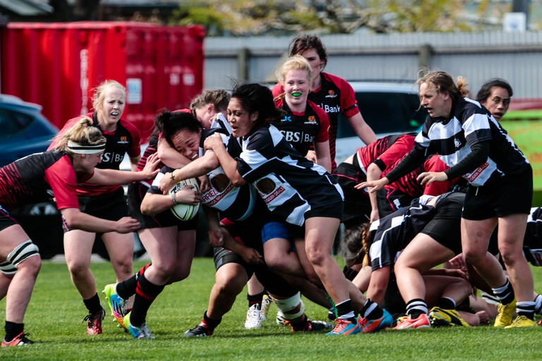 Canterbury Women's NPC Rugby Team vs Hawkes Bay