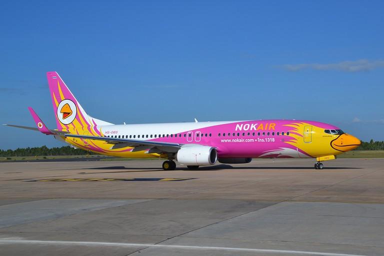 A Nok Air plane