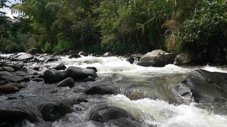 The pretty Pance River