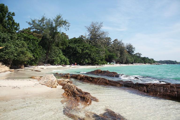A beach on Koh Samet