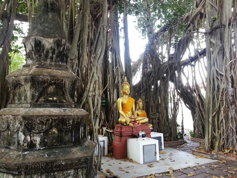 Wat Khae, where Khun Phaen was said to have learned some magic