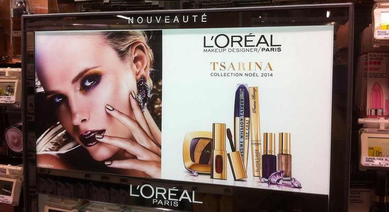 L'Oréal cosmetics line, 2014