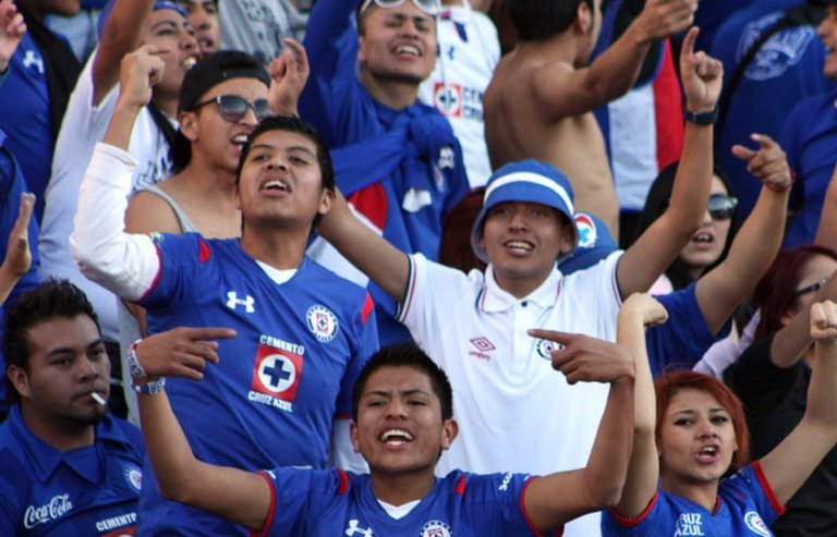 Cruz Azul supporters