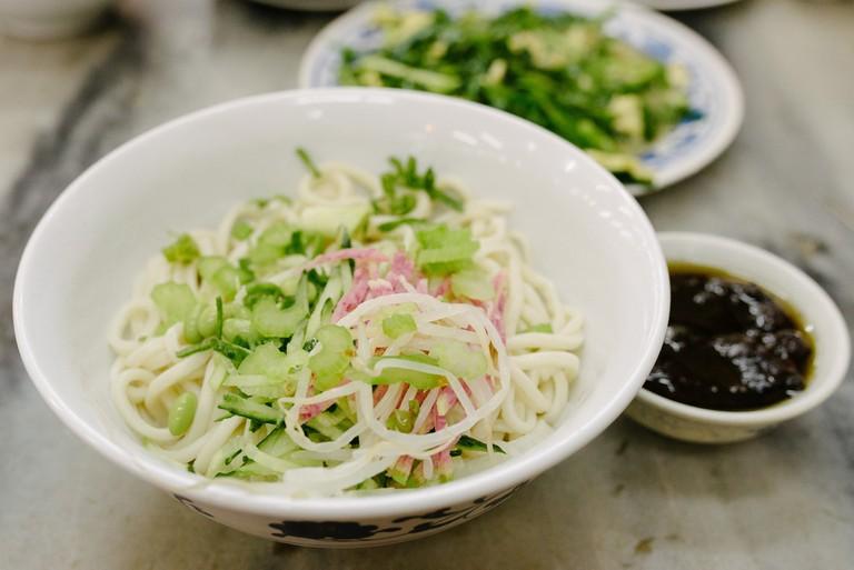 Zhajiangmian (Beijing Fried Sauce Noodles)