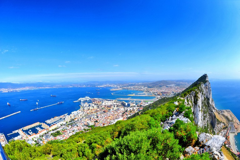 Amazing views from the top of the Rock of Gibraltar; Andres Alvarado, flickr