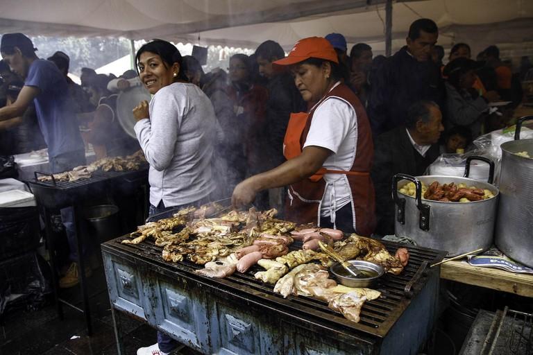 Comida Típica, Quito, Ecuador