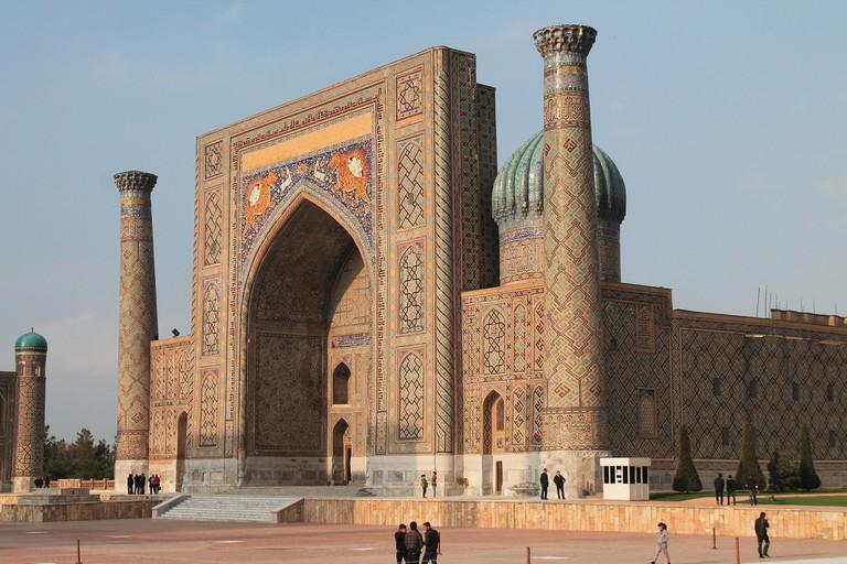 Shir Dor Mosque, Uzbekistan   © Robert Wilson/Flickr