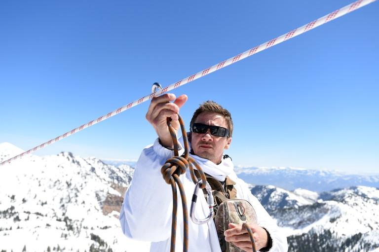 Jeremy Renner in Wind River