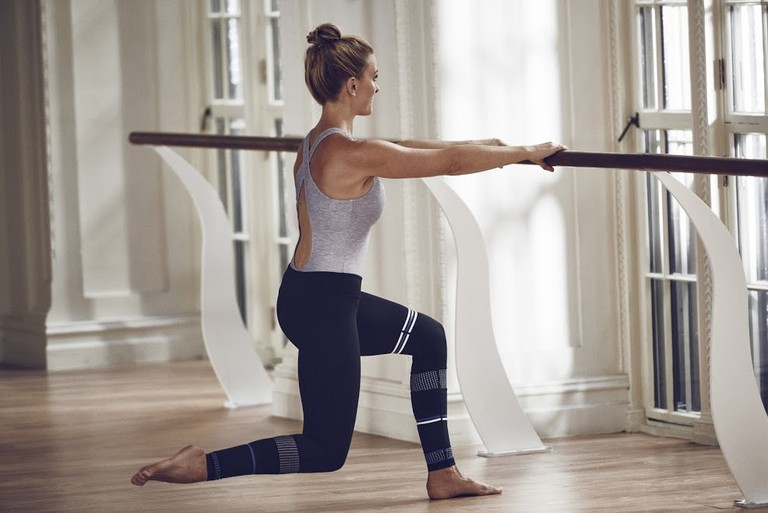 At the barre