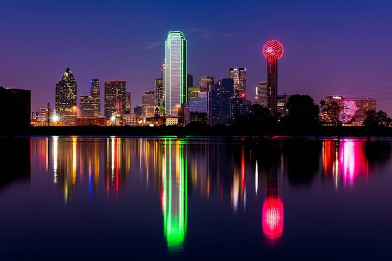 The Dallas skyline I