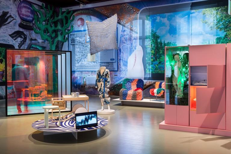 Exhibition view of Enter and Encounter, Helsinki Design Museum   © Paavo Lehtonen