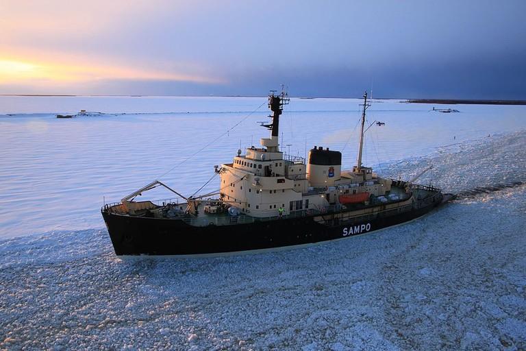 Icebreaker Sampo / Eduard47 / WikiCommons