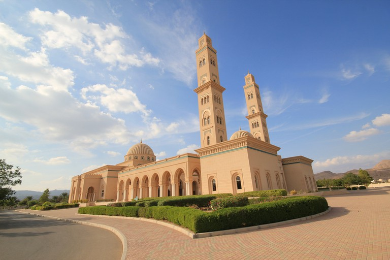 Sultan Qaboos Mosue in Bahla