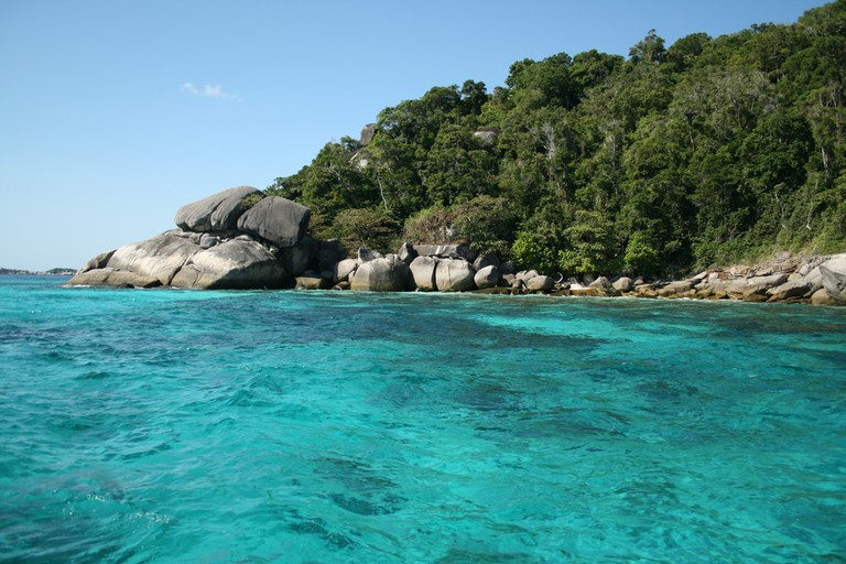 National parks such as the Similan Islands close in the rainy season