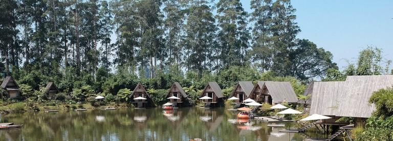 The view at Dusun Bambu
