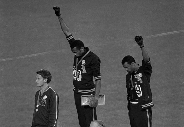 The 1968 salute