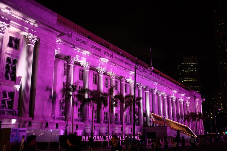 Exterior of National Gallery Singapore
