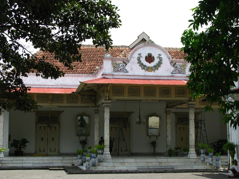 The Sultan's House in Yogyakarta