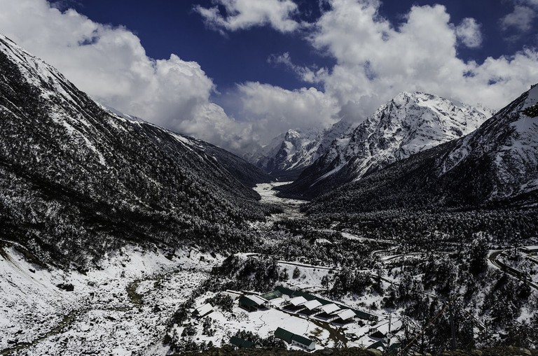 Frozen Valley of Yumthang