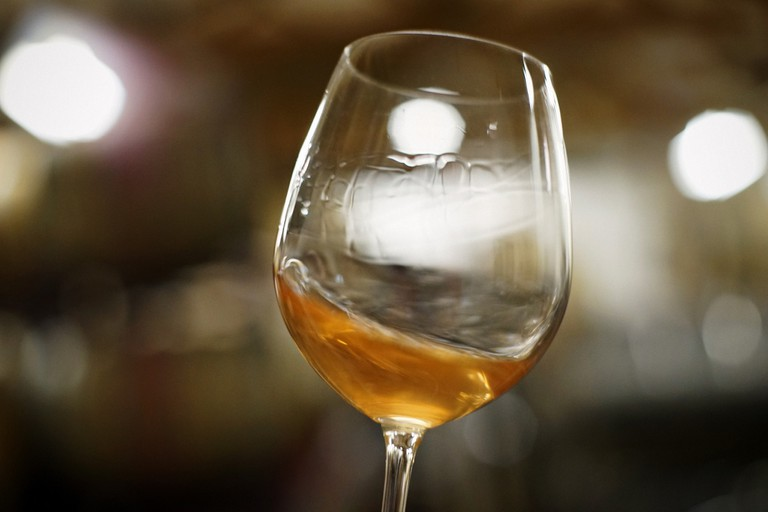 A pinot gris orange wine © Jim Fischer