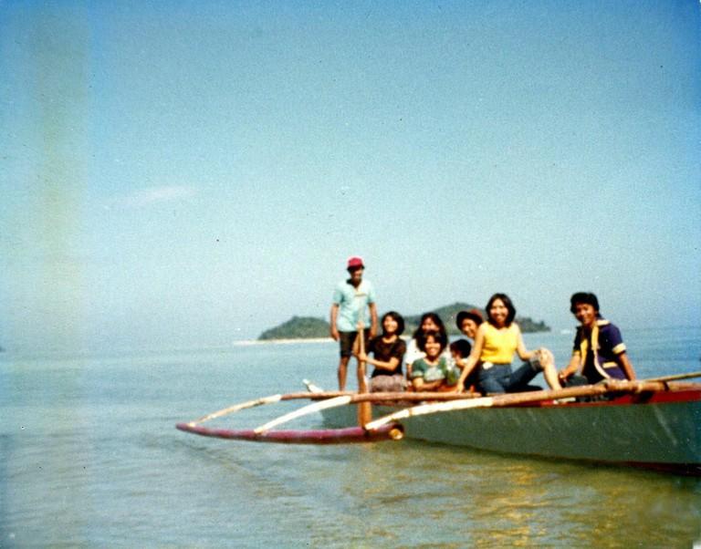 Old photo taken in Palawan