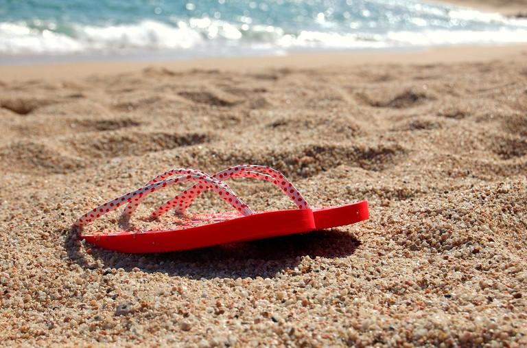 'Noisy footwear' is banned on the island of Capri