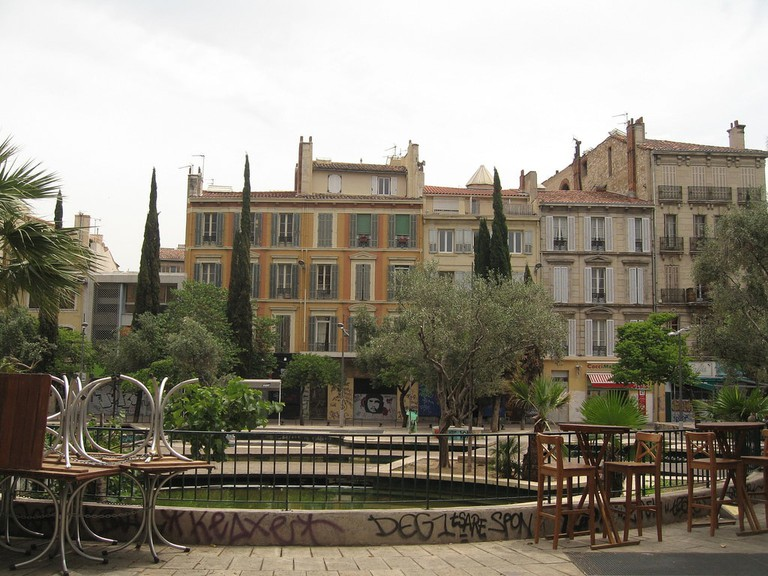 The Cours Julien in the edgy and cool 6th arondissement of Marseille