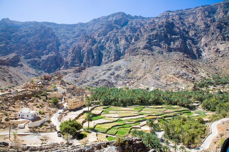 Mountain road from Nizwa to Wadi Bani Awf – Bilad Sayt By: Andries3