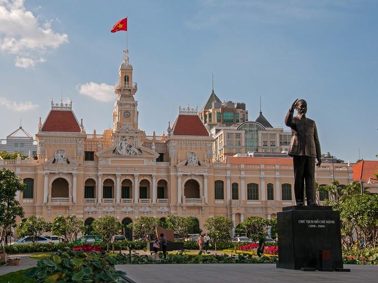 Uncle Ho Waving to his Namesake City   © Bvi4092/Flickr