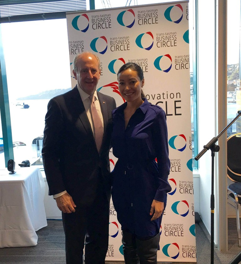 Adriana Gascoigne, Founder and CEO of Girls in Tech, visits New Zealand