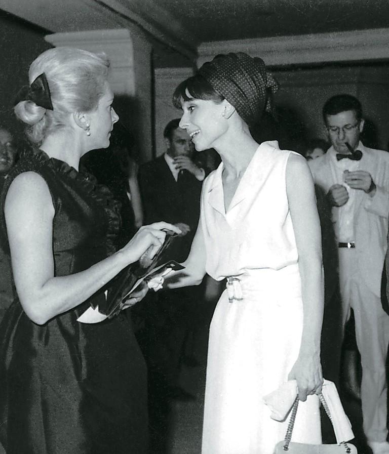 Deborah Kerr and Audrey Hepburn