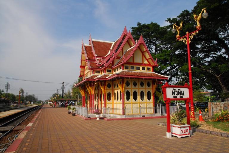 Hua Hin's iconic railway station