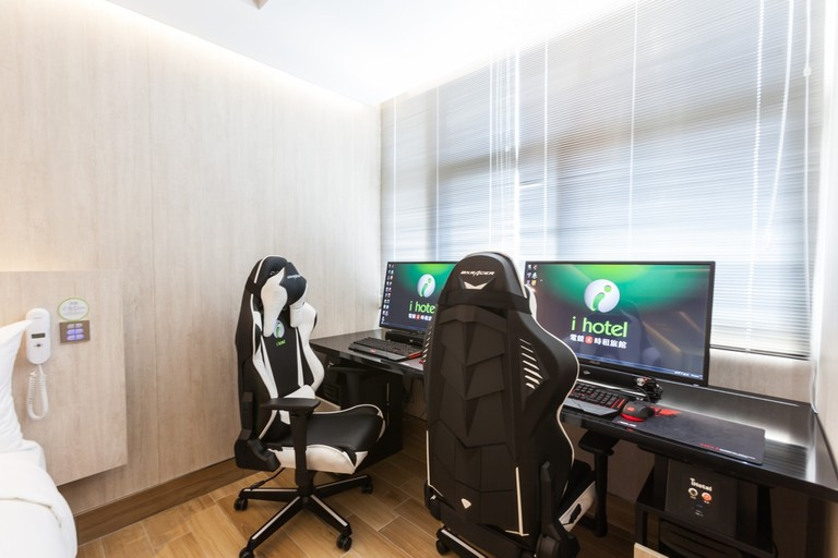 Top class gaming machines in each room