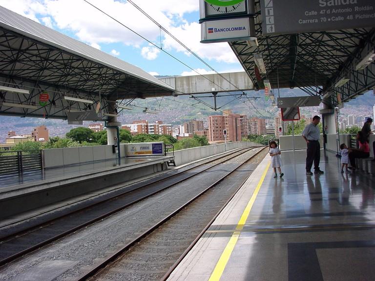 The excellent Medellin metro