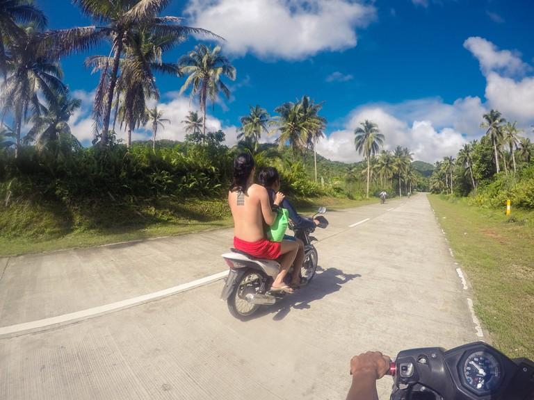 Motorbiking in Siargao