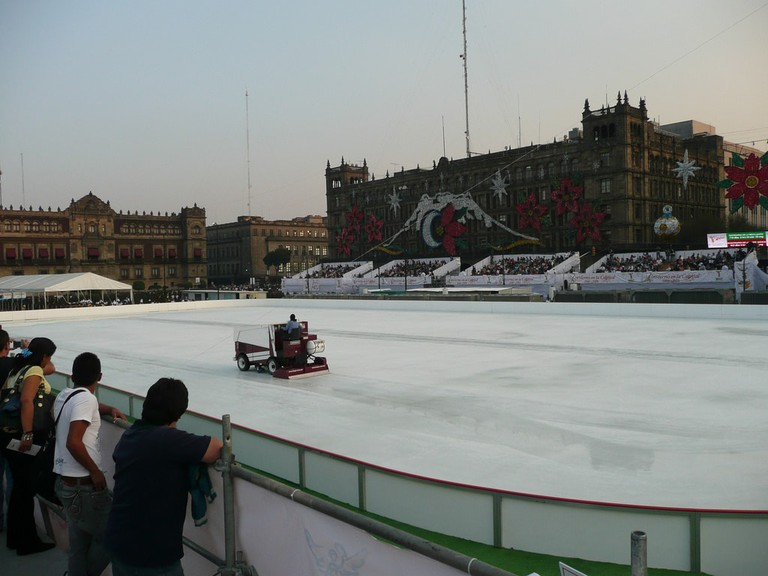 Mexico City's Ice Rink │