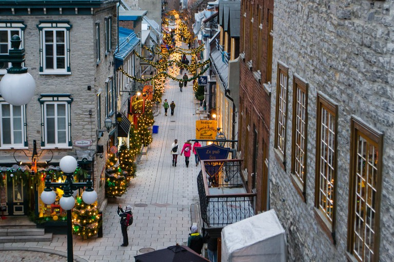 Christmas time in Old Québec