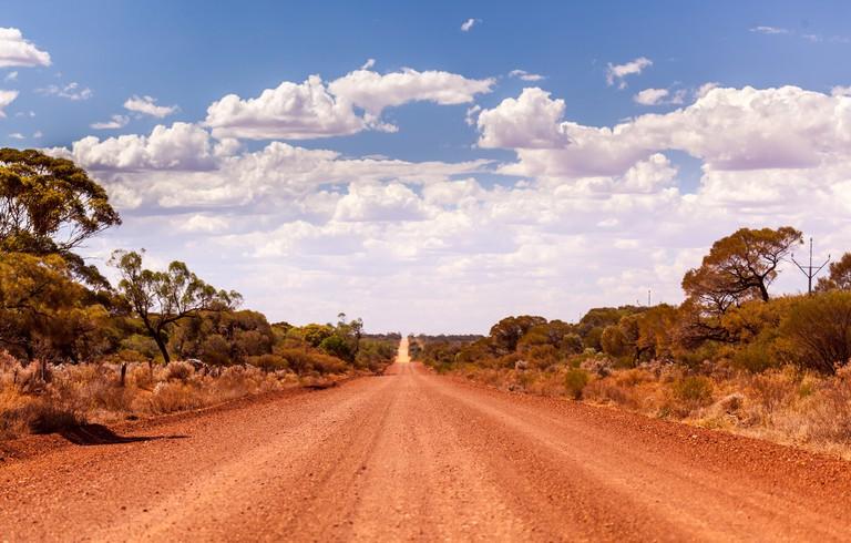 Outback Road, Iron Baron, South Australia